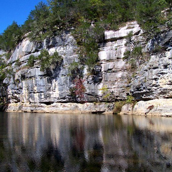 The Buffalo National River offers scenic views, RV parks and float-trip opportunities.