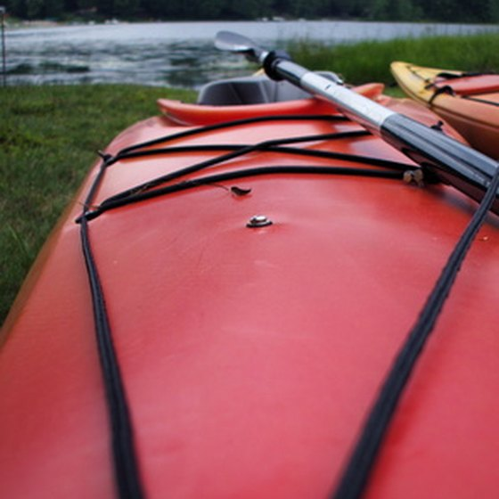 Kayaking is a popular activity at Seneca Lake.