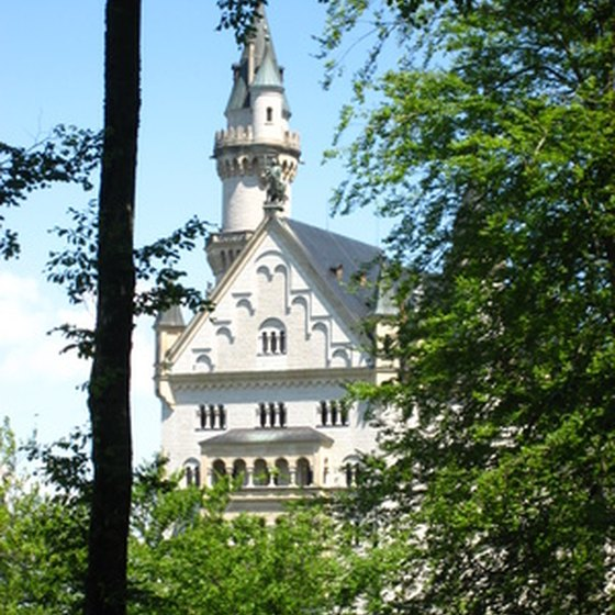 Group castle tours in Germany include the famous Neuschwanstein.