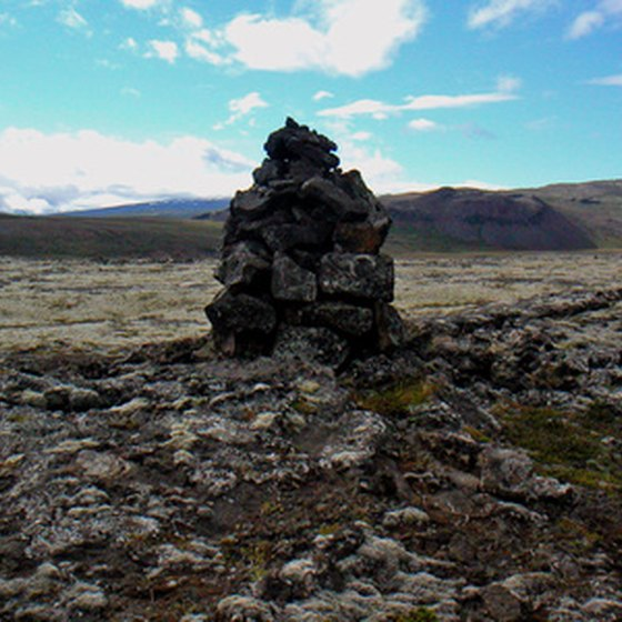Iceland's desolate-but-beautiful landscape offers breathtaking hiking.