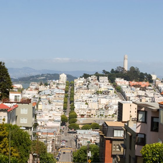 Hills of San Francisco