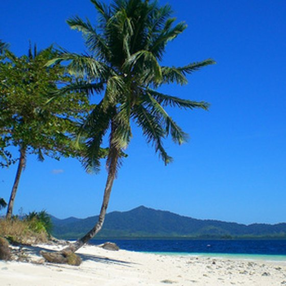 The Philippines offer white-sand beaches and turquoise skies.