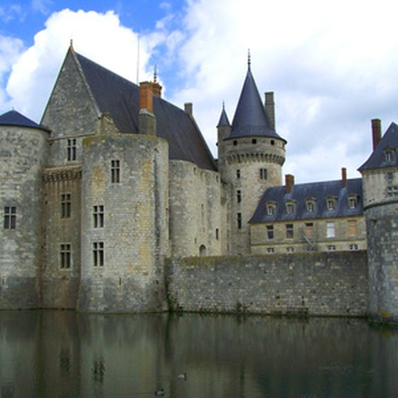Many educational tours stop at chateaux on the Loire River.