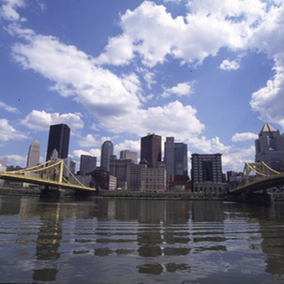 Pittsburgh's famous skyline