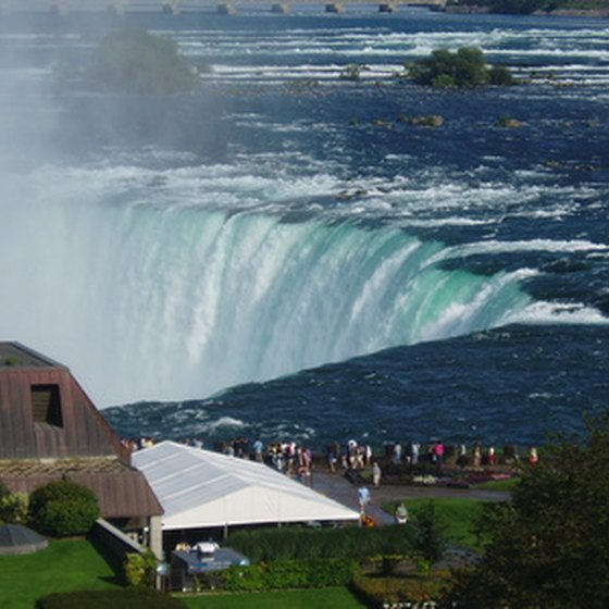 The Bridal Veil Falls at Niagara Falls State Park