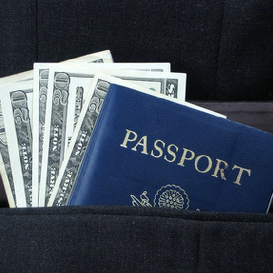 Money and a passport are essential for international travel.