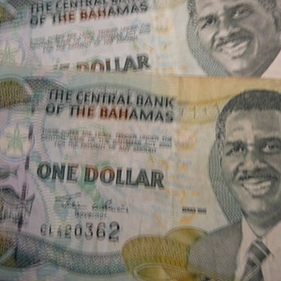 One Bahama dollar equals one U.S. dollar.