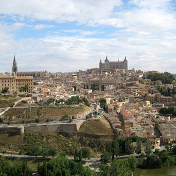 The city of Toledo.