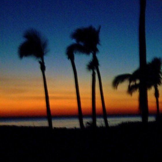 Relax outside your RV and enjoy a spectacular Florida sunset