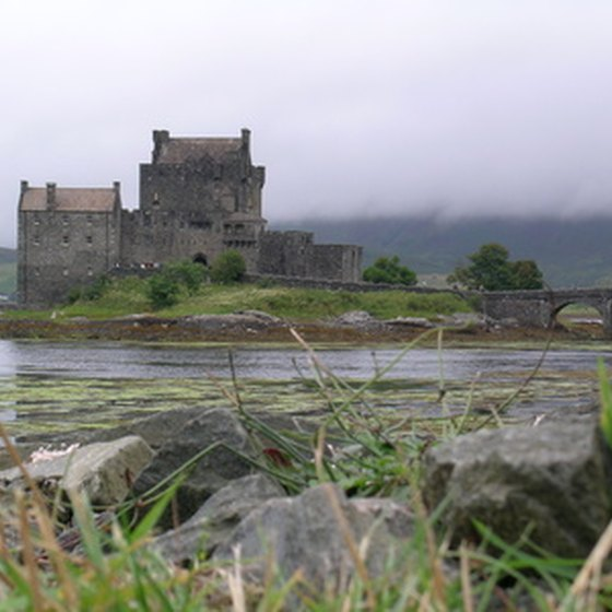 Castles are tour highlights in the Scottish Highlands.