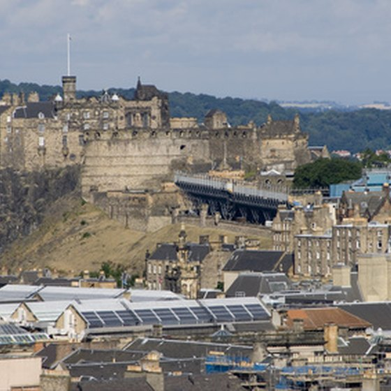 Edinburgh is Scotland's second largest city.