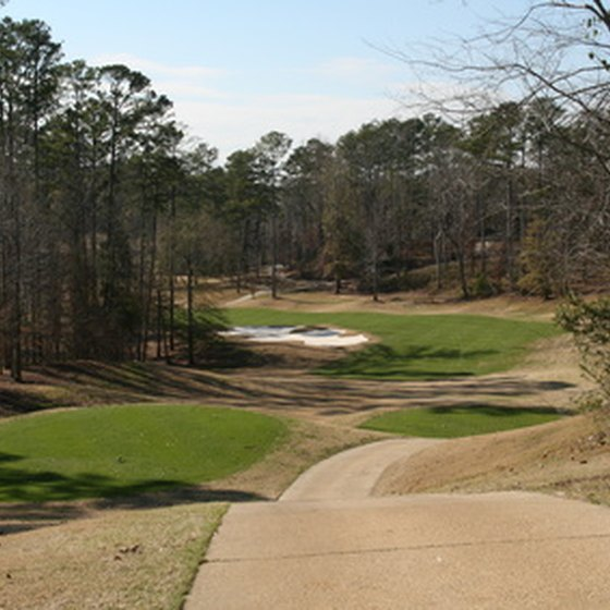 View of Alabama's Cambrian Ridge Golf Course