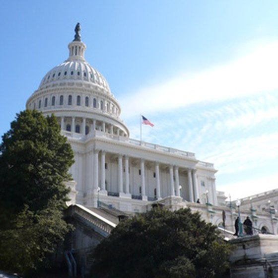 When in Washington, D.C., take time to enjoy a tour of the Nation's Capitol.