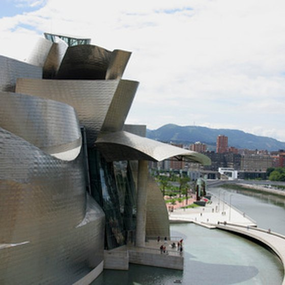 Bilbao is home to the Guggenheim Art Museum.