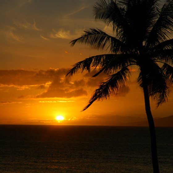 Maui is home to some of the world's most beautiful sunsets.