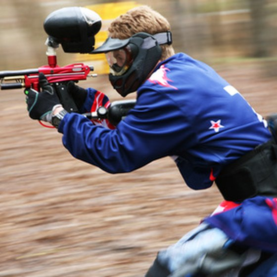 Paintball is one of the many activities available at this Ohio state park.