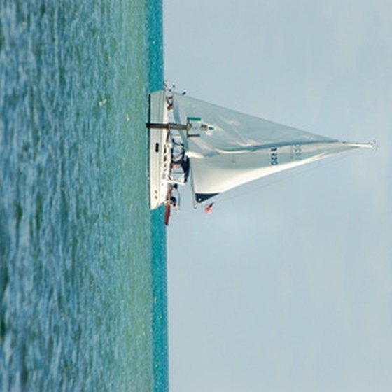 Sailing tours from Florida's coast are fun for vacation or romance.
