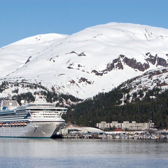 Cruise ships allow visitors to explore Alaska in comfort.