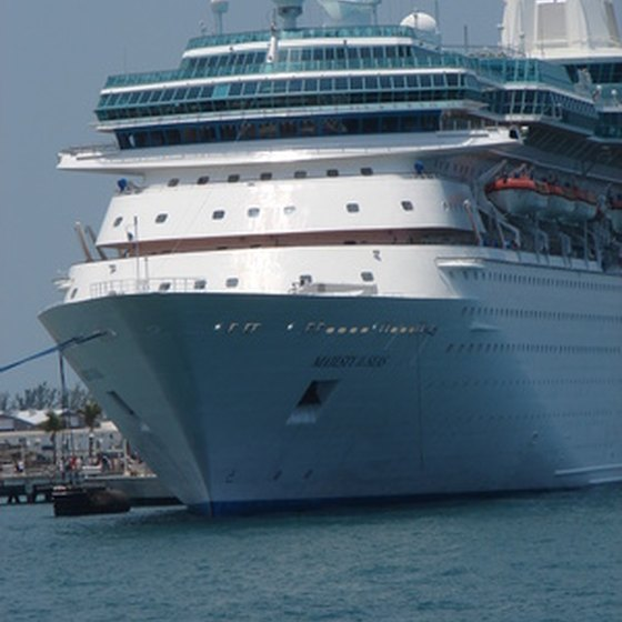 Cape Liberty provides cruises from the New York area.