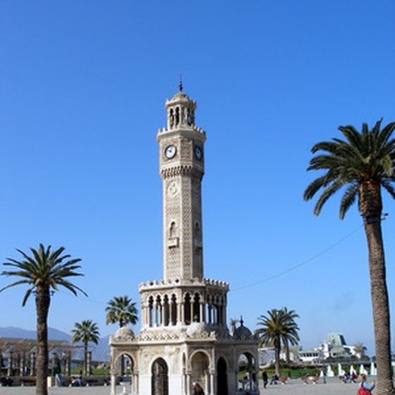 Izmir's clock tower is the city's symbol.