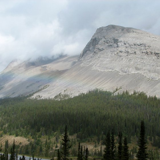 The Canadian Rockies are a summer playground for outdoor enthusiasts.