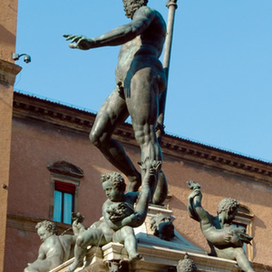 The Neptune Statue is one of Bologna's most famous monuments.