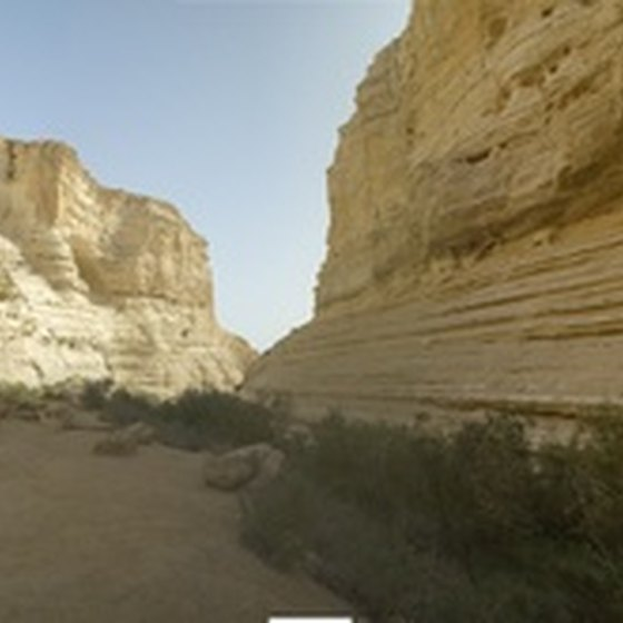 Ein Ovdat canyon can be enjoyed during Israel's mild December weather.