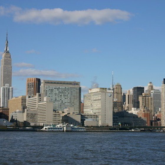 Enjoy breathtaking views of the NYC skyline on a cruise from the Port of New York