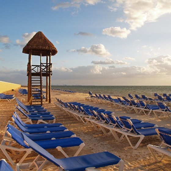 Staying in a resort in Cancun offers one of many options for a Yucatan Peninsula vacation.