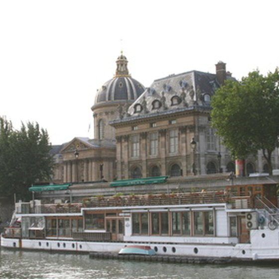 France has a network of waterways for boaters.