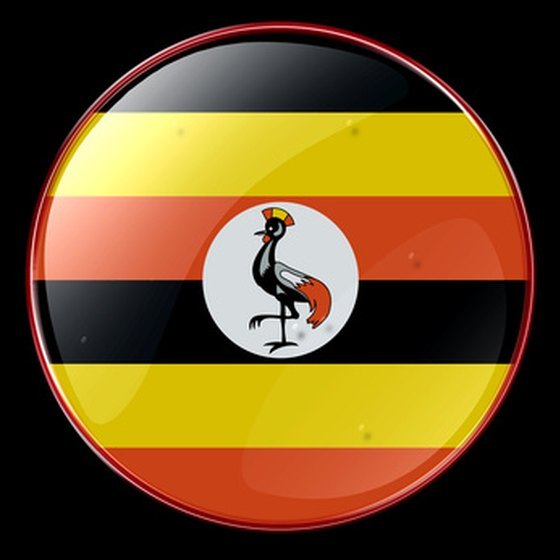 The seal of Uganda features the gray crowned crane.