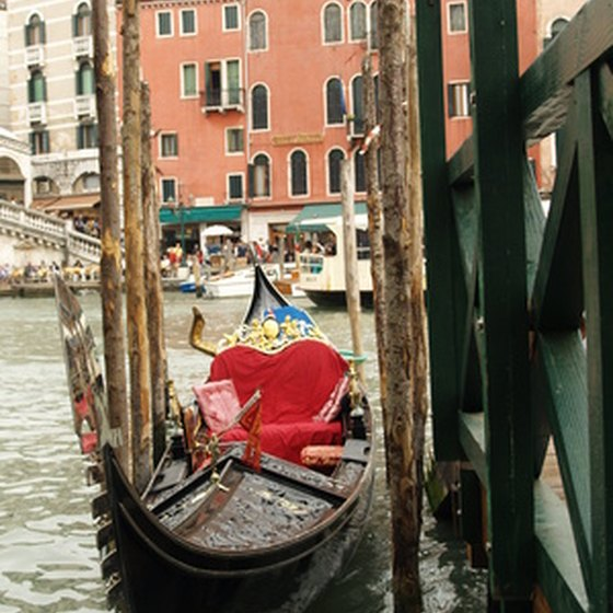 European cruises offer visits to Venice and similar tourist sites.