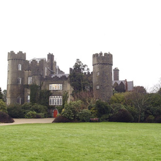 Many of Ireland's castles are now luxury hotels.