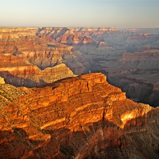 Phantom Ranch sits at the bottom of the Grand Canyon