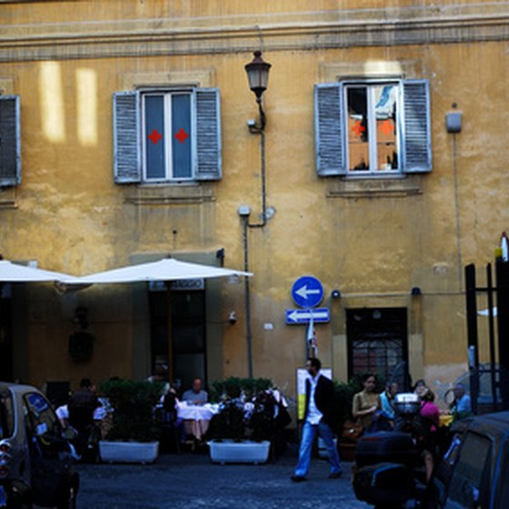 Rome is full of excellent restaurants.