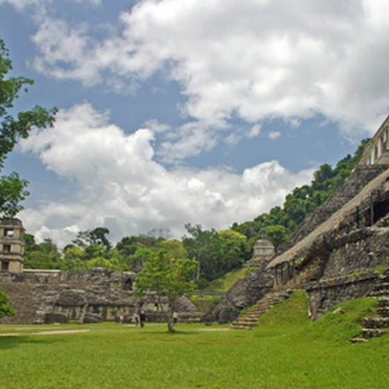 Palenque is one of the most dramatically set ancient Mayan cities.