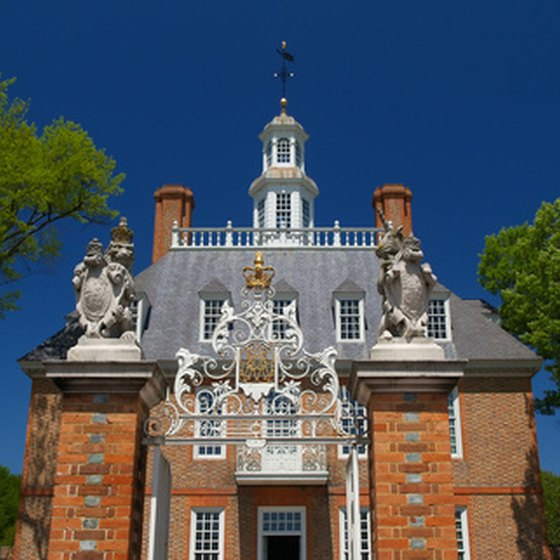 The Governor's Palace in Colonial Williamsburg