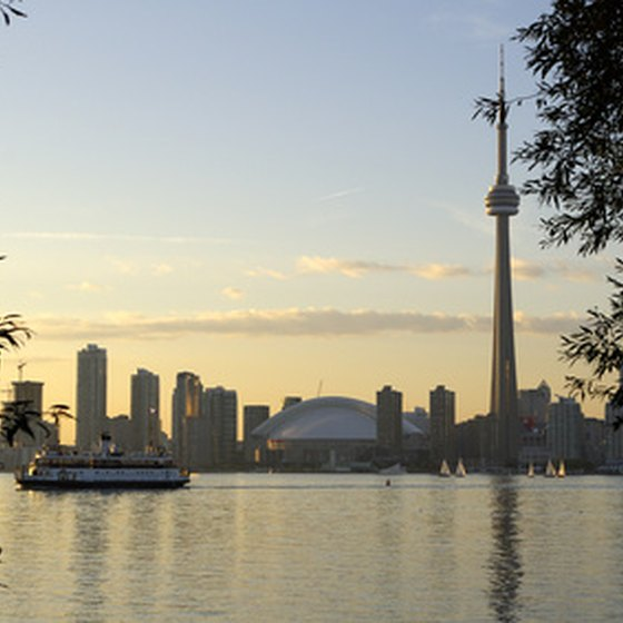 Toronto is Canada's most important city and transit hub.