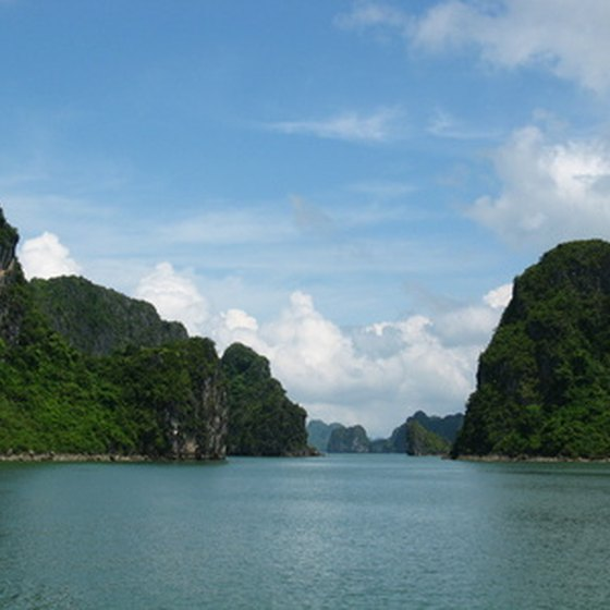 Halong Bay in Vietnam is a spectacular feature of some Asian cruise itineraries.
