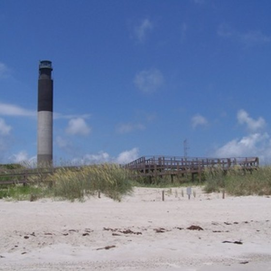 Children can explore historic lighthouses in North Carolina.