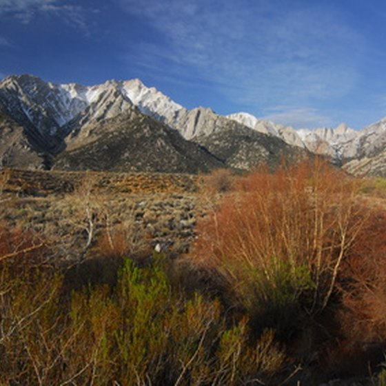 Mount Whitney is the highest peak in Death Valley National Park.