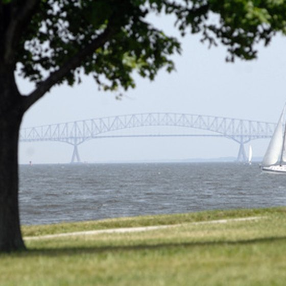 Just over the Chesapeake Bay Bridge is Maryland's Eastern Shore.