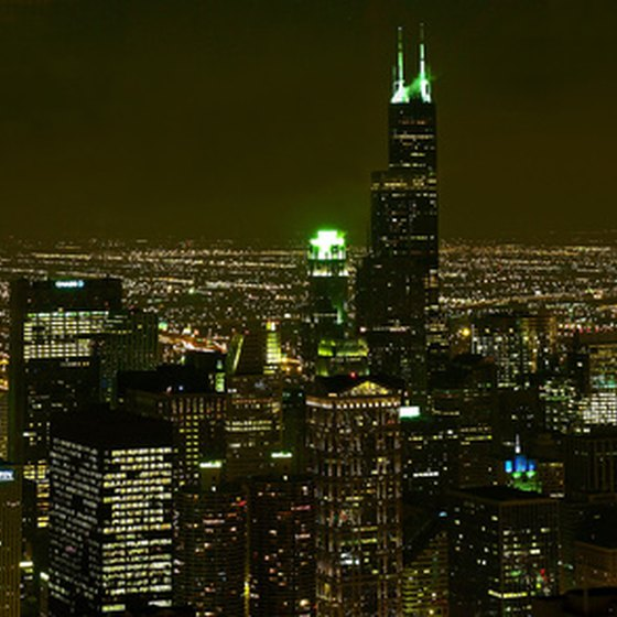 Chicago's lights shine brightest in the summertime.