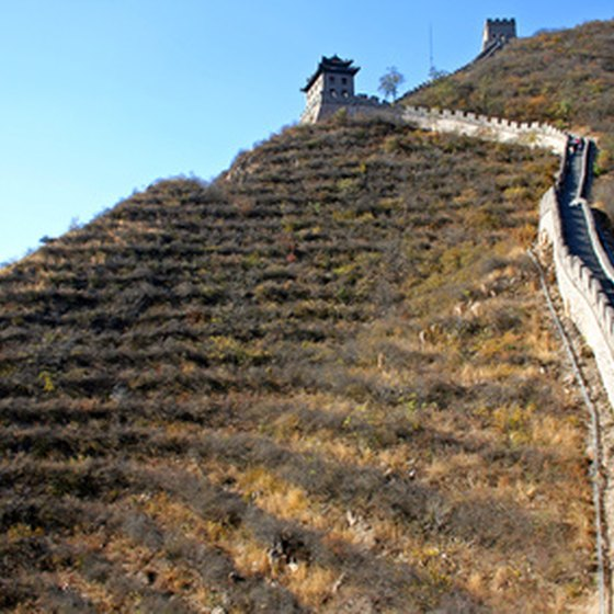 Hiking the wall combines outdoor adventure with ancient ruins.