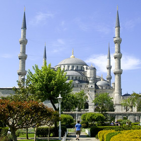 The Blue Mosque is one of Turkey's main historic attractions.