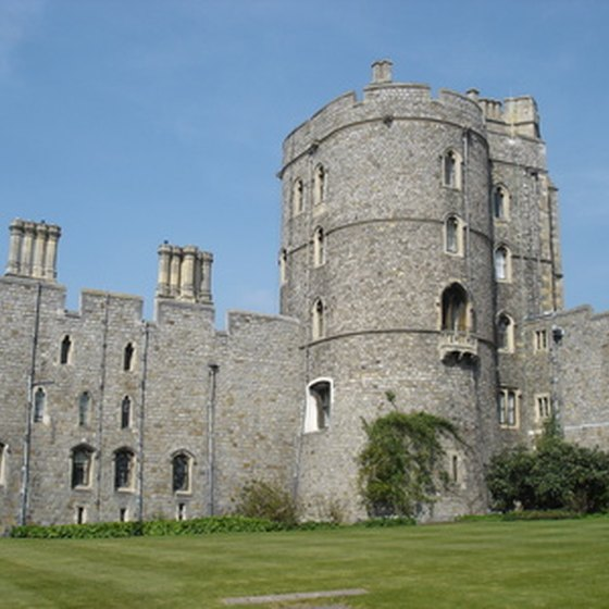 Windsor Castle has a 1,000-year history.