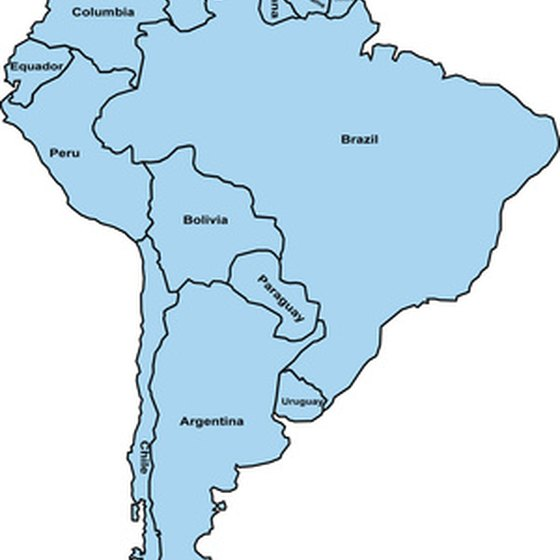 Brazil is South America's largest country.