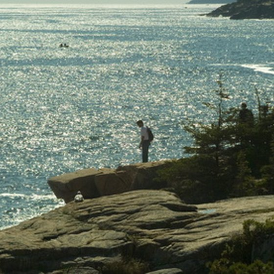 Acadia National Park is located on the rocky coast of Maine.