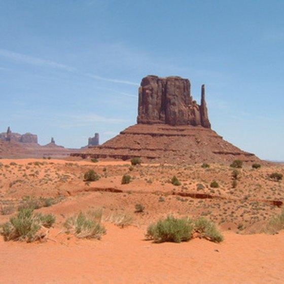 Monument Valley represents an idealized version of the American West.