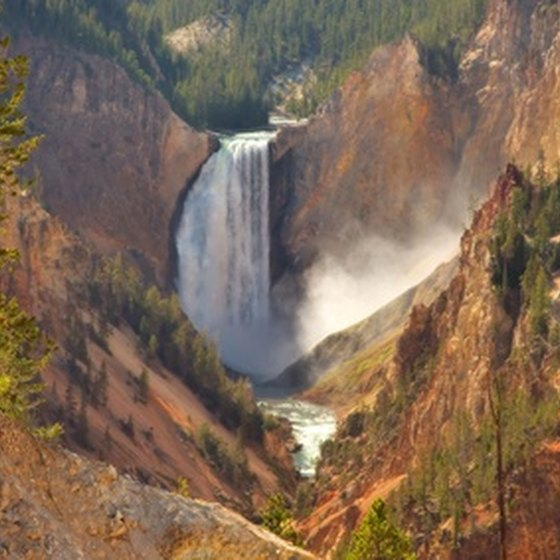 Yellowstone's beauty attracts throngs of visitors.